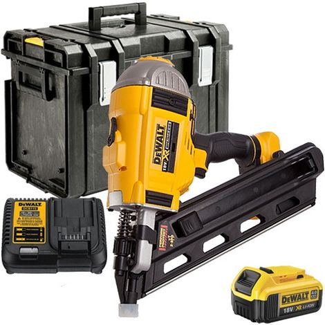 Dewalt DCN692 18V Brushless Framing Nailer 90mm with 1 x 4.0Ah Battery & Charger in Toughsystem Box without Tray