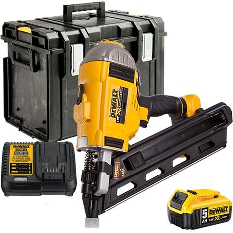 Dewalt DCN692 18V Brushless Framing Nailer 90mm with 1 x 5.0Ah Battery & Charger in Toughsystem Box without Tray