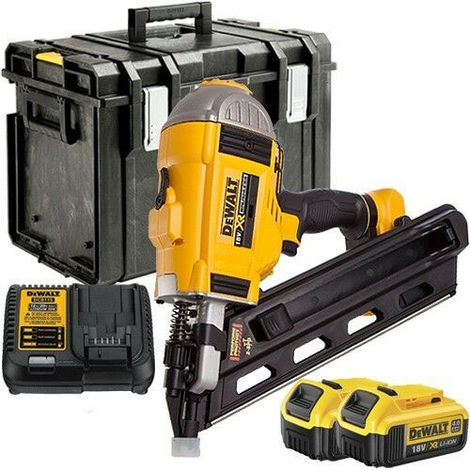 Dewalt DCN692 18V Brushless Framing Nailer 90mm with 2 x 4.0Ah Batteries & Charger in Case