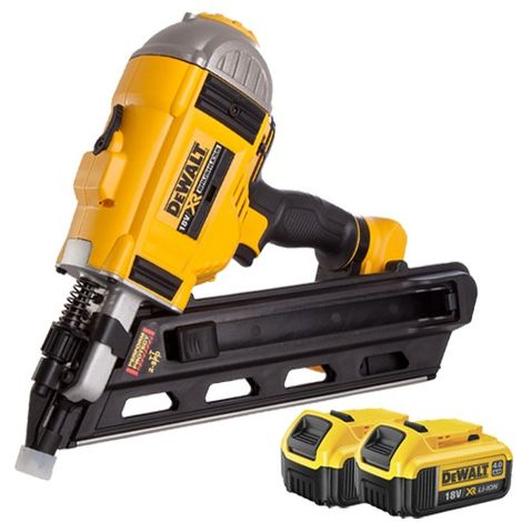 DeWalt DCN692 18V Brushless Framing Nailer with 2 x 4.0Ah Battery