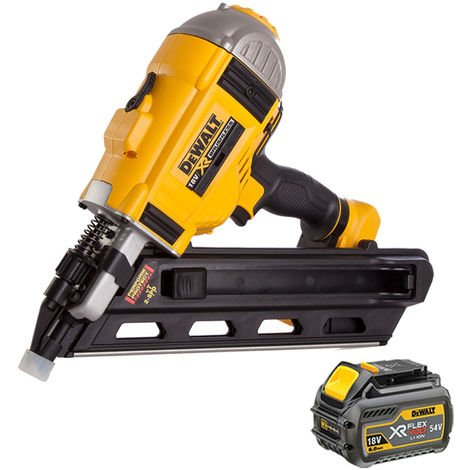DeWalt DCN692N 18V Brushless Framing Nailer with 1 x 6.0Ah Battery