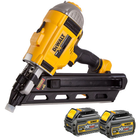 DeWalt DCN692N 18V Brushless Framing Nailer With 2 x 6.0Ah Batteries