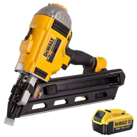 DeWalt DCN692N 18V Brushless Framing Nailer with 4.0Ah Li-Ion Battery