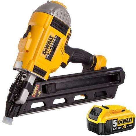 DeWalt DCN692N 18V Brushless Framing Nailer with 5.0Ah Li-Ion Battery