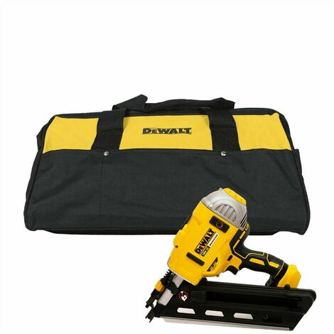 """main image of """"DeWalt DCN692N XR 18V BL First Fix Angled Nail Gun with Large Tool Bag (Body Only)"""""""