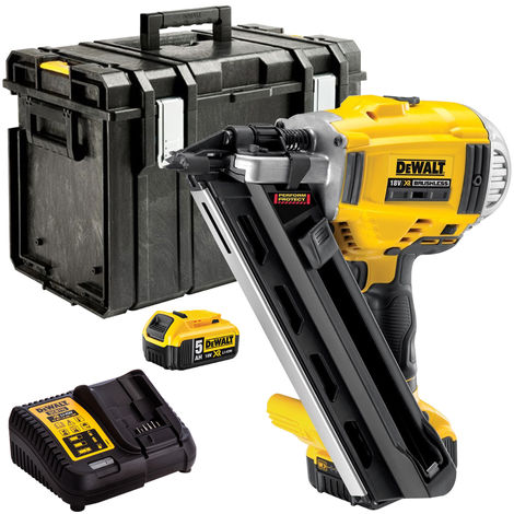 Dewalt DCN692P2 18V Brushless Framing Nailer with 2 x 5.0Ah Batteries & Charger in Case