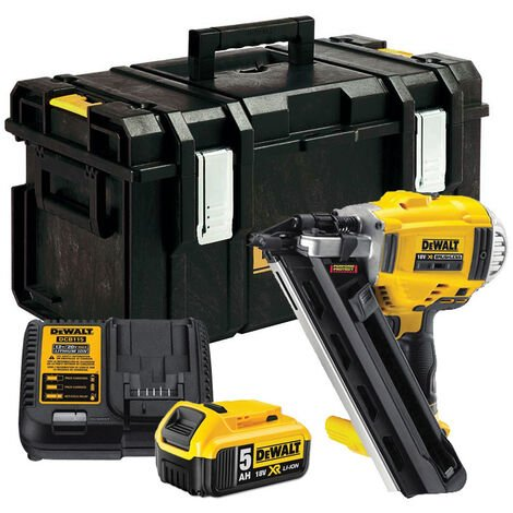 DeWalt DCN692P2 18V XR 2-Speed Brushless Framing Nailer Kit with 2 x 5.0Ah Batteries
