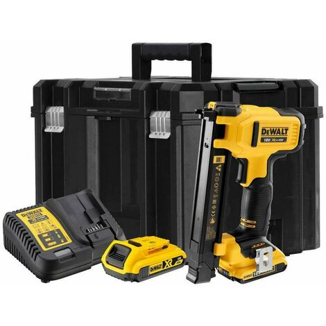 DeWalt DCN701D2-GB 18V Electrician's Stapler & 2 x 2.0Ah Li-ion Batteries