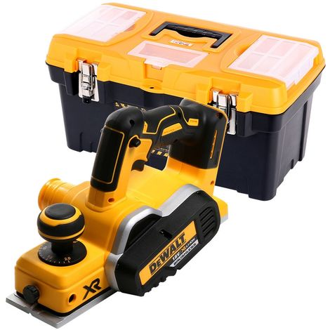 Dewalt DCP580 18V XR Brushless Planer With 19inch / 49cm Tool Storage Box