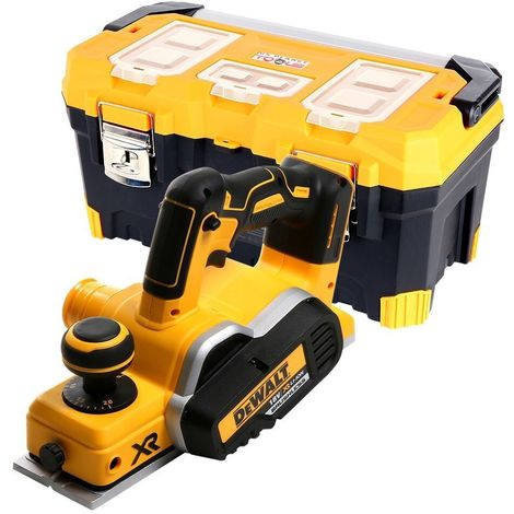 Dewalt DCP580 18V XR Brushless Planer With 22 inch / 56cm Tool Storage Box