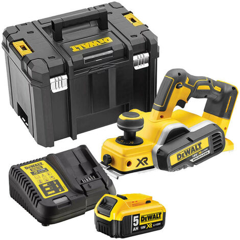 Dewalt DCP580A1 18v Brushless Planer with 1 x 5.0Ah Battery