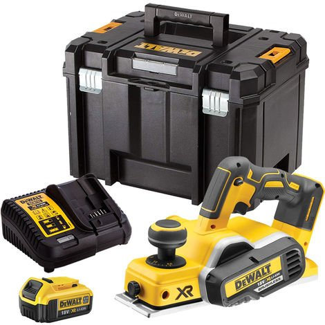 """main image of """"DeWalt DCP580N 18V Brushless Planer with 1 x 4.0Ah Battery & Charger in TSTAK"""""""