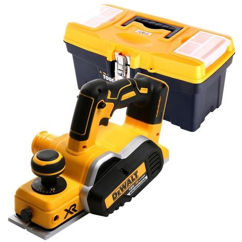 Dewalt DCP580N 18V XR Brushless Planer With 16 inch /41 cm Tool Storage Box