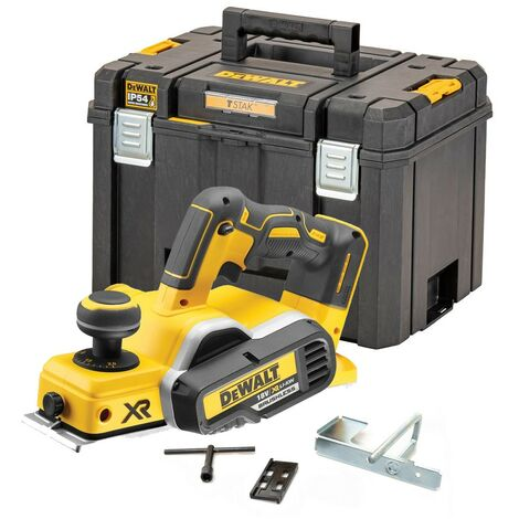 Dewalt DCP580N 18v XR Cordless Brushless Planer Bare + Deep TSTAK 2 IP54 Case