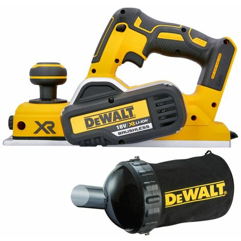 DeWalt DCP580N 18V XR Cordless Brushless Planer With Dust Bag