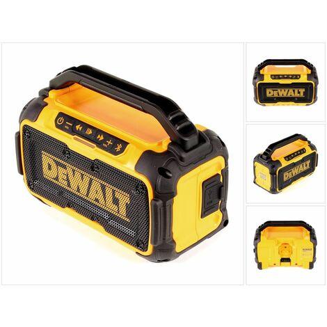 DeWALT DCR 011 Altavoz Bluetooth perfecto para obras/talleres de 10,8 - 18 V - Sin batería, sin cargador incluidos