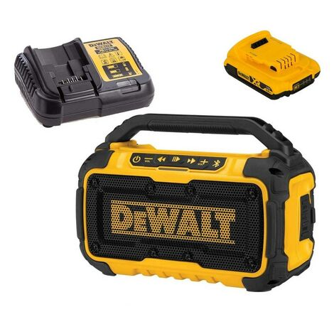 Dewalt DCR011 Bluetooth Speaker 10.8 12v 18v 54V Flexvolt / XR + 1 Battery
