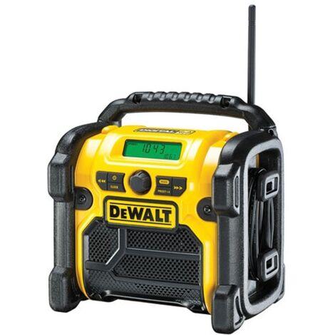 DeWalt DCR020 12-18V/240V XR Compact DAB Digital Jobsite Radio