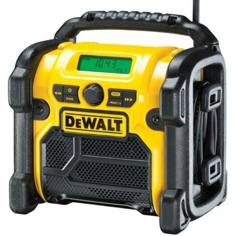 """main image of """"Dewalt DCR020 XR DAB Compact Digital Radio"""""""