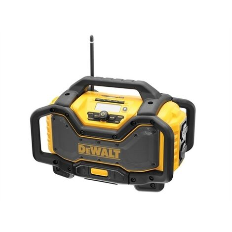 DEWALT DCR027-GB FlexVolt XR Radio Charger 240 Volt & Li-Ion Bare Unit