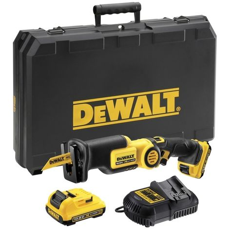 DEWALT DCS310D2-QW - Sierra Sable XR 10.8V Li-Ion 2.0Ah