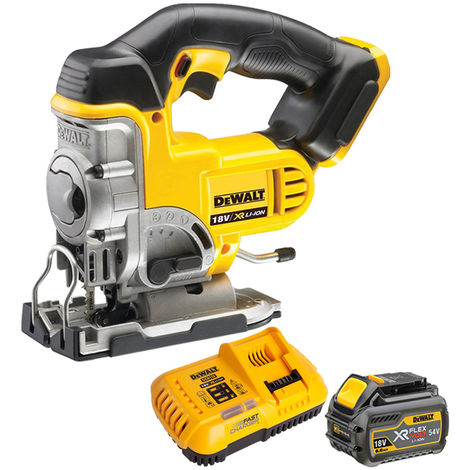 Dewalt DCS331N 18V Cordless Jigsaw With 1 x 6.0Ah Battery & Charger
