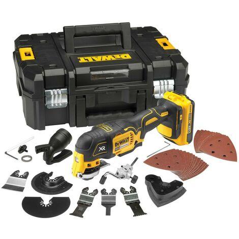 Dewalt DCS355D1 18v XR Oscillating Multi Tool + 35 Piece Accessory + TStak Case