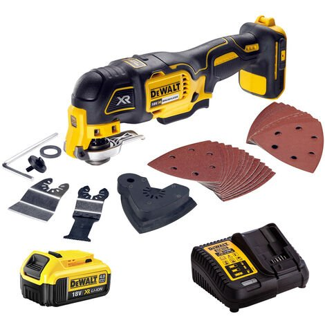 Dewalt DCS355N 18V Oscillating Multi-Tool With 4.0Ah Battery & Charger