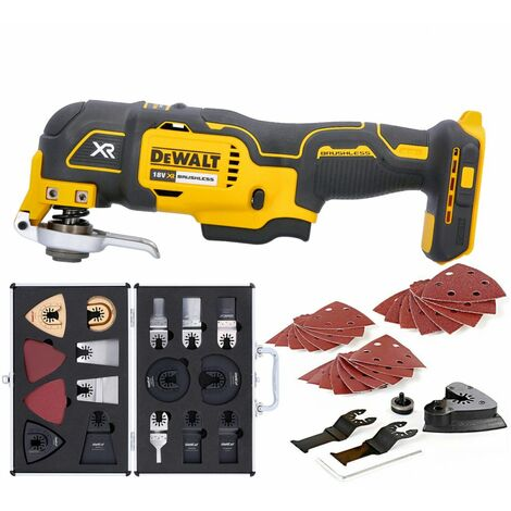 Dewalt DCS355N 18V XR Brushless Oscillating Multi-tool With 34 Piece Accessories Set