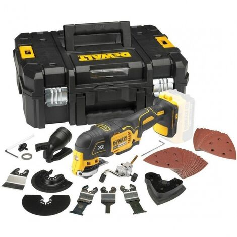 DeWalt DCS355N/ACCESS 18V XR Brushless Multi-Tool with 35pc Accessory Kit and Case (Body Only)