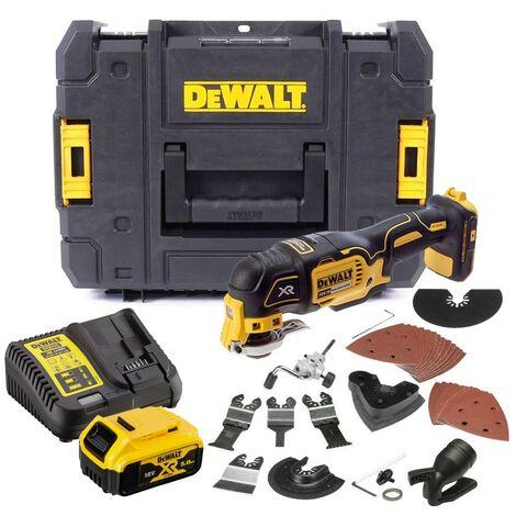 Dewalt DCS355P1 18v XR Brushless Oscillating Multi Tool + 35 Accessory Kit 5.0AH