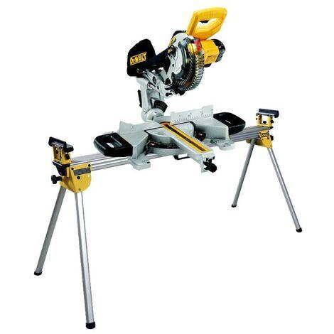 Dewalt DCS365N 18v Cordless XPS 184mm Mitre Saw Bare Unit + DE7023 Leg Stand