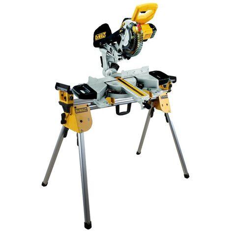 Dewalt DCS365N 18v Cordless XPS 184mm Mitre Saw Bare Unit + DE7033 Leg Stand