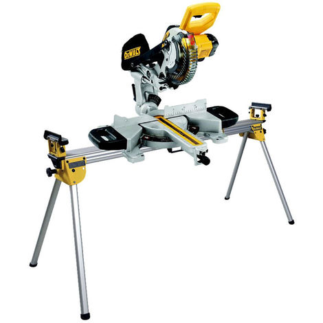 Dewalt DCS365N 18V Cordless XPS 184mm Mitre Saw Body with Universal Leg Stand