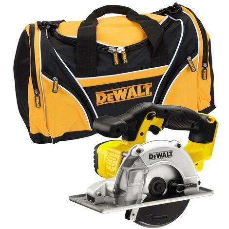 DeWalt DCS373N 18v XR Metal Cutting Cordless Circular Saw 140mm + Tool Bag
