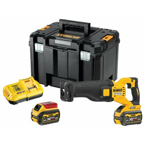 DeWalt DCS389X2 Flexvolt 54v XR Brushless Cordless Reciprocating Saw Kit 2x 9 Ah Batteries