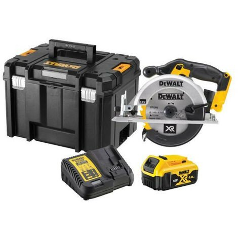 DeWalt DCS391M1 XR 165mm Circular Saw 18V with 1x 4.0Ah Battery