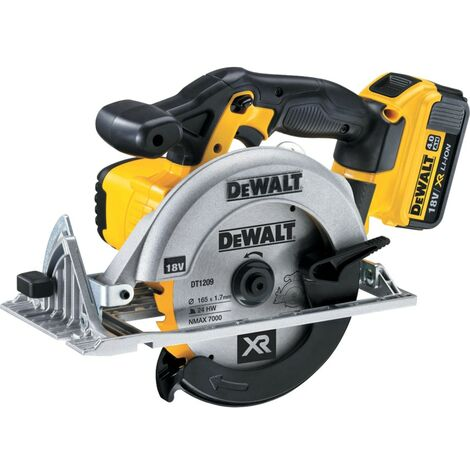 DeWalt DCS391M2 - 18V Circular Saw - 165MM Blade, 2X 4.0AH Batteries and Charger