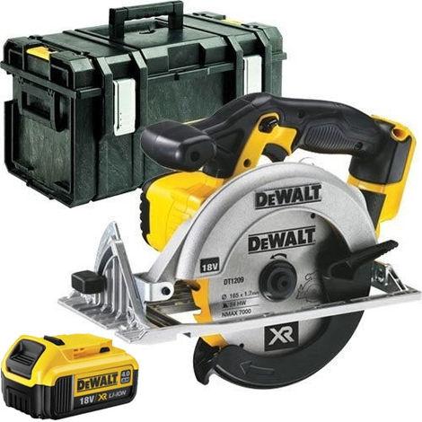 Dewalt DCS391N 18V 165mm Circular Saw + 1 x 4.0ah Battery + Kit Box:18V