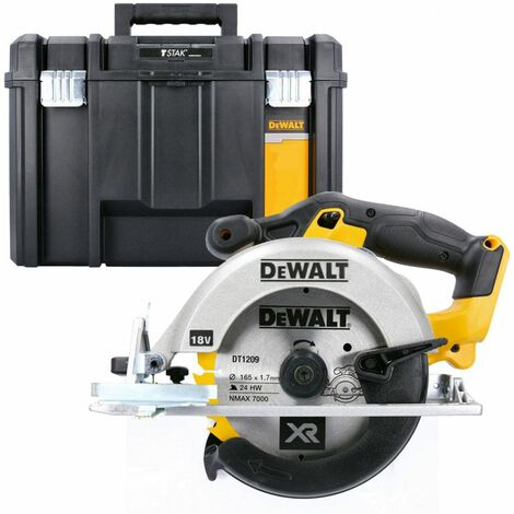DeWalt DCS391N 18V XR li-ion Circular Saw 165mm Body With DWST1-71195 ToolBox