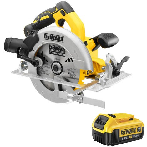 DeWalt DCS570N 18V 184mm Brushless Circular Saw with 1 x 4.0Ah Battery:18V