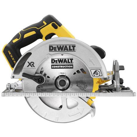DeWalt DCS572N 18v XR Brushless 184mm Circular Saw Rail Compatible Body Only