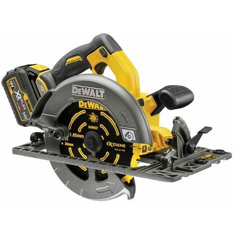 DeWALT DCS576T2-GB 54V Flexvolt Circular Saw (Fits rail)2x 6ah Batts