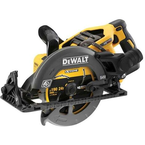 DeWALT DCS577T2-GB 54V XR FLEXVOLT 190mm High Torque Circular Saw Kit