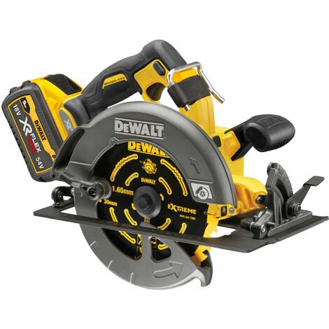 DeWalt DCS578X2 XR FlexVolt Circular Saw 190mm 54V 2 x 9.0Ah Li-ion