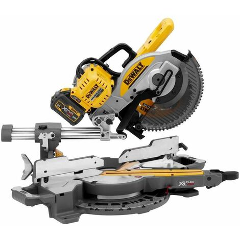DeWalt DCS727T2 54v 250mm FlexVolt Mitre Saw 2x6ah Batt & Charger