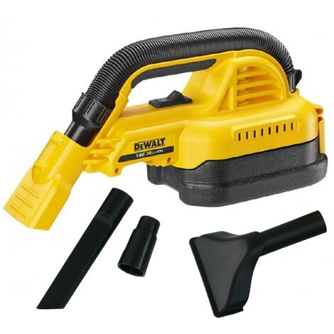 """main image of """"DeWalt DCV517N XR Handheld 18v Wet and Dry Cordless Vacuum + Nozzles Body Only"""""""