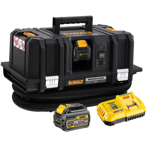 Dewalt DCV586MT2 54V XR Flexvolt M-Class Dust Extractor With 2 x 6.0Ah Batteries & Charger