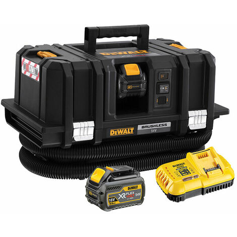 DeWalt DCV586MT2-GB XR FlexVolt Dust Extractor 18/54V 2 x 6.0/2.0Ah Li-ion