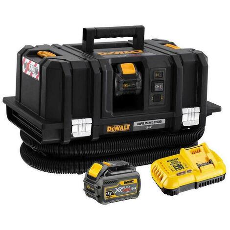 DeWalt DCV586MT2 XR FlexVolt Dust Extractor 18/54V with 2 x 6.0Ah Batteries